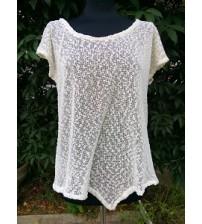 Flattering knit shirt