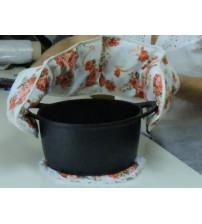 Kitchen sleeve gloves