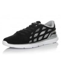 Fashionable sneakers Black / White