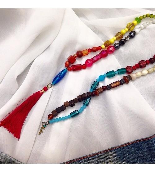 Colorful necklas