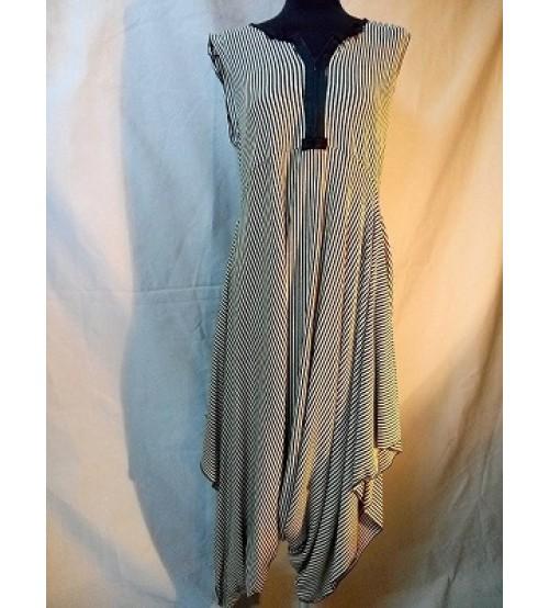 Striped jumpsuit-Dresses