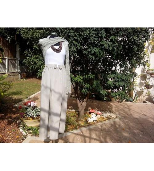 striped bottom dress-Dresses