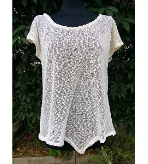 Flattering knit shirt-Shirts