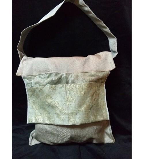 golden shades large hand bag